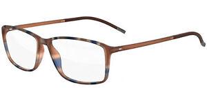 Occhiali da Vista Silhouette SPX ILLUSION FULLRIM 2893 Brown Blue 54/14/0 uomo