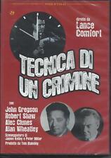 Tecnica di un crimine (1964) DVD