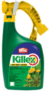 ORTHO KILLEX Lawn Weed Killer Concentrate, 1L Ready-to-Spray, No Mix Concentrate