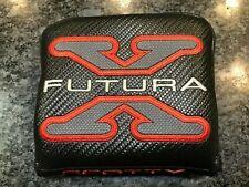 Titleist Scotty Cameron Futura X Mallet Square Putter RH Headcover Black/Red/Gre