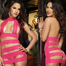 Sissy/Sexy Lingerie Women Lace Dress Sex-Toys G-String  Thong Rose Sleepwear