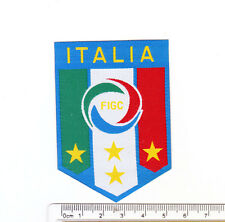 kiTki Italy FIGC soccer football team iron-on embroidered patch emblem applique