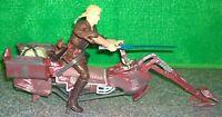 Star Wars AOTC Anakin Skywalker + Tatooine Swoop Bike Speeder - Used