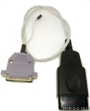 IPROG+.  OBD2 cable. 3 in 1 (2CAN, 1 K-line). 1PCS.