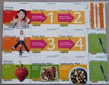 Weight Watchers Start Brochures Jeu complet (12 Pièces) Sattmacher Plan + Bonus