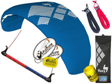 HQ HQ4 Fluxx 2.2 Trainer Kite Kiteboarding Foil Control Bar +Padded Wrist Straps