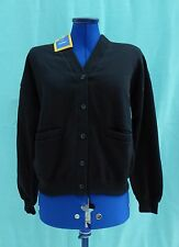 BHS Black School Sweatshirt Cardigan Bust 34""