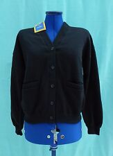 Black School Sweatshirt Cardigan for Girls 158cm, Bust 34""