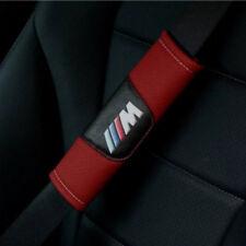 2 Stücke Rot Auto Sicherheitsgurt Schulter Kissenbezug Fit Für  BMW M Auto