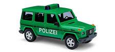 """BUSCH 51410 - H0 1:87 Mercedes-Benz G-Klasse """"Polizei"""" 1990 NEU in OVP"""
