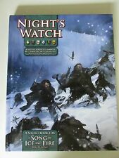 nights watch sourcebook aSoIaF a song of ice & fire RPG game of thrones edition