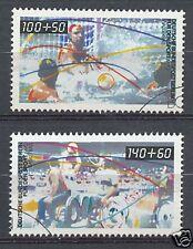 Berlin 864 - 865 gebruikt  Motief sport