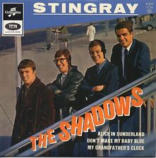 CD Single The SHADOWS Stingray - EP REPLICA - 4-track CARD SLEEVE   + VERY RARE