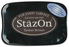 StazOn -  Ink Pad - Timber Brown