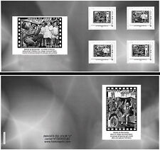"DEBS2-4C Collector Booklet 4 Perso stamp ""Jeep - Battle Normandy / D-DAY"" 2012"