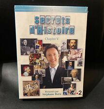 DVD PAL SECRETS D'HISTOIRE CHAPITRE V NEUF SOUS BLISTER