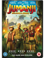 Jumanji - Welcome to the Jungle DVD (2018) Dwayne Johnson, Kasdan (DIR) cert 12