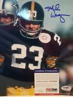 Mike Wagner Signed Pittsburgh Steelers 8x10 Photo - PSA/DNA COA
