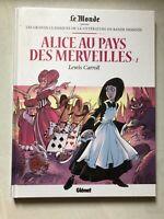 Alice au pays des Merveilles 2 - classiques de la littérature Le Monde/Glénat