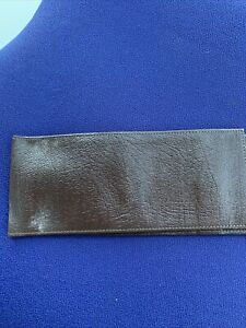 Brown Leather Cheque Book Cover New No Reserve