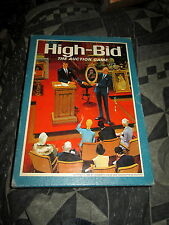 Vintage 1965 High Bid Auction Bookshelf Game Very Good Condition