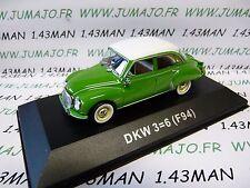 DDR7 voiture 1/43 test Allemagne 2013 AUTO UNION norev : DKW 3=6 F94