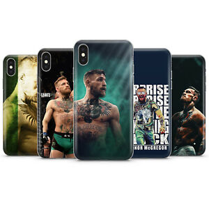 CONOR McGREGOR UFC FIGHTER PHONE CASES & COVERS FOR IPHONE 5 6 7 8 X 11 SE 12