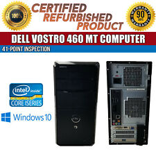 Dell Vostro 460 MT Intel i5 8GB RAM 500GB HDD Win 10 USB VGA LAN B Grade Desktop