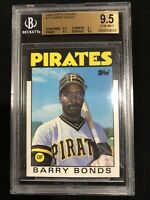 1986 Topps Traded #11T Barry Bonds BGS 9.5 (9.5, 9.5, 9, 9.5) Subs, HR King HOF?
