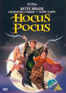 Hocus Pocus DVD (2001) Bette Midler, Ortega (DIR) cert PG FREE Shipping, Save £s