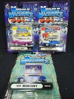 MUSCLE MACHINES DIE CAST METAL 1:64 SCALE CARS N.I.P *4*