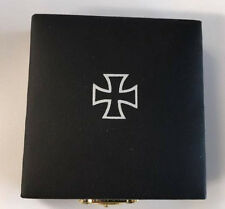 WWII WW2 German Iron Cross 1939 1st class award medal badge box case EK1 Pinback