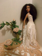 EVANGELINE GHASTLY ELLOWYNE ROMANTIC TATTERED LACE DRESS GOWN OUTFIT FASHION