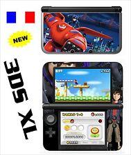 SKIN STICKER AUTOCOLLANT DECO POUR NINTENDO 3DS XL - REF 195 LES NOUVEAUX HEROS