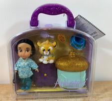 NEW Disney Parks Animators Collection Jasmine Mini Doll Play Set 5 Inch