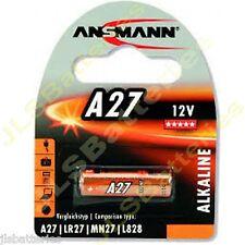 10 x ANSMANN A27 MN27 27A 12v Alkaline Batteries E27A EL812 L828 G27A