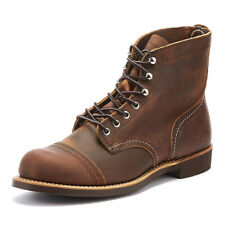 Red Wing Shoes Iron Ranger Copper Mens Boots Casual Winter Shoes