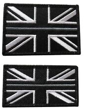 Thin Grey Line HMP Prison Officer Service Union Jack Badge Patch Large & Small