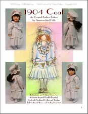 """1904 Coat and Hat"" Fashion Pattern for American Girl Nelly, Samantha and others"