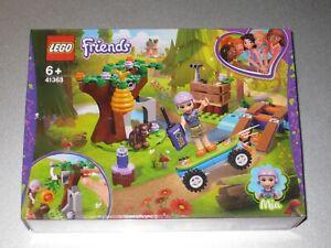 LEGO FRIENDS SET 41363 MIA'S FOREST ADVENTURE  - BRAND NEW