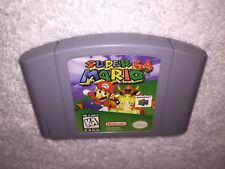 Super Mario 64 (Nintendo 64, 1996) Authentic Original N64 Game Cartridge Nr Mint