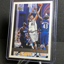 Tim Duncan 1997-98 Topps #115 RC Rookie