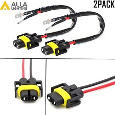 Alla Lighting Pigtail Connector Plug Wiring Socket for H11B Convert to H11 Fit