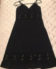 Black Linen Dress Size 10