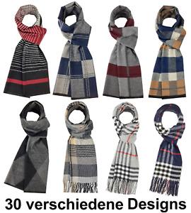 HERREN SCHAL SALE Elegant, Klassisch Stylisch Herbst Winter Strickschal Business