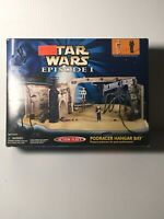 Vintage Galoob Action Fleet Star Wars Episode I Podracer Hangar Bay In NIB 1998