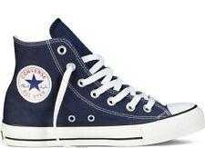 ORIGINALI CONVERSE ALL STAR CHUCK TAYLOR NAVY BLU BIANCHE ALTE scarpe UNISEX