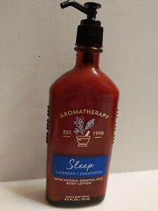 Bath Body AROMATHERAPY SLEEP Lavender  Cedarwood BODY LOTION 6.5 oz  New