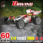 Wltoys 144001 1/14 2.4G 4WD 60km/h RC Racing Car RTR w/ Upgraded Batter