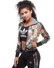 adidas Originals Farm Company Floral Multi Black Jacket Size Uk6 8 10 14 733 UK 6 EU 32 US XS